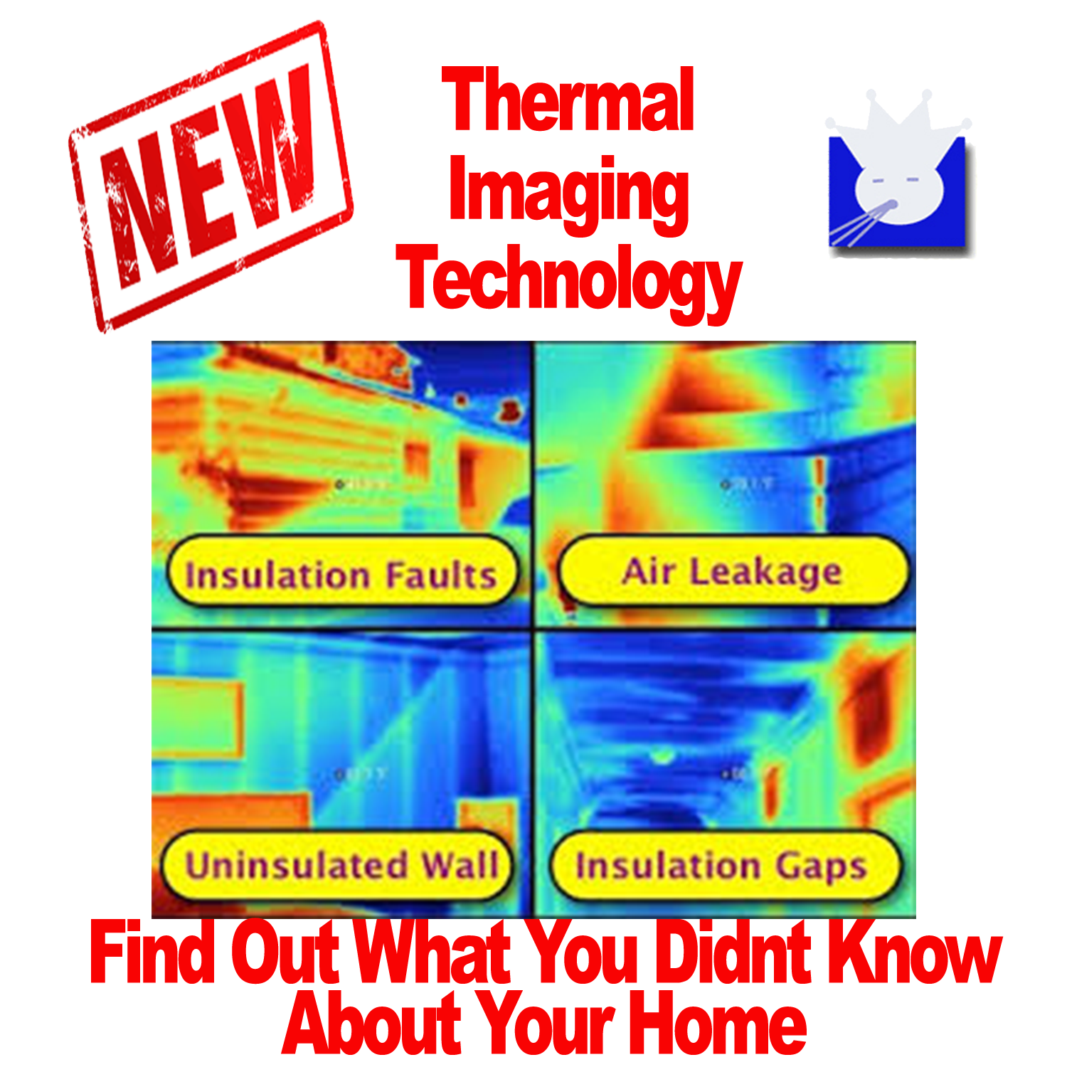 AAA Duct Cleaning offers Thermal imaging services for new home buyers San Antonio. Thermal imaging can help reveal air leaks and insulation problems San Antonio. San Antonio Thermal Imaging Company.